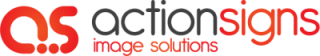 Action Signs Logo